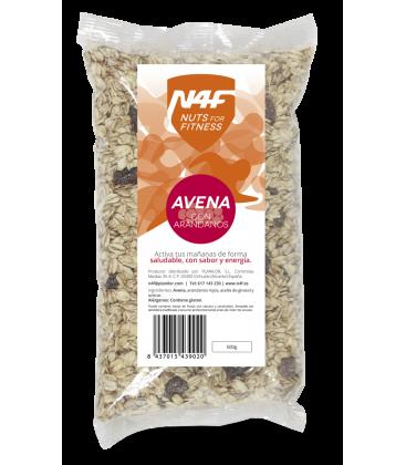 Copos de Avena con Arándanos (500 g.) Nuts4Fitness