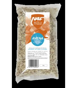 Copos de Avena con Aloe Vera (500 g.) Nuts4Fitness