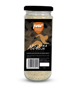 Lecitina de Soja premium (200g.) Nuts4Fitness