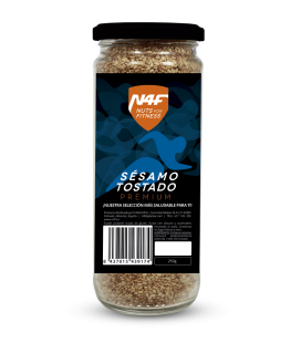 Semillas de Sésamo Tostado premium (500 g.) Nuts4Fitness