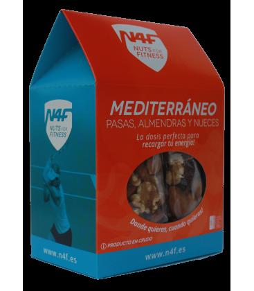 MEDITERRÁNEO. Pasas, Almendras y Nueces (pack 6 uds.) Nuts4Fitness